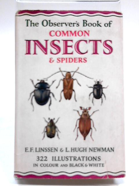 The Observer's Book of Common Insects & Spiders, Outlining All The British Orders (Observer's Pocket Series) by Eugene F. Linssen