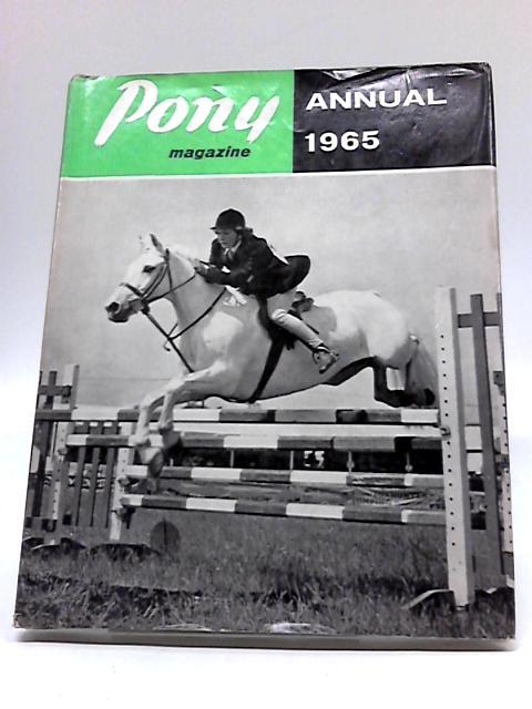 Pony Magazine Annual 1965 By Lieut. Col. C. E. G Hope