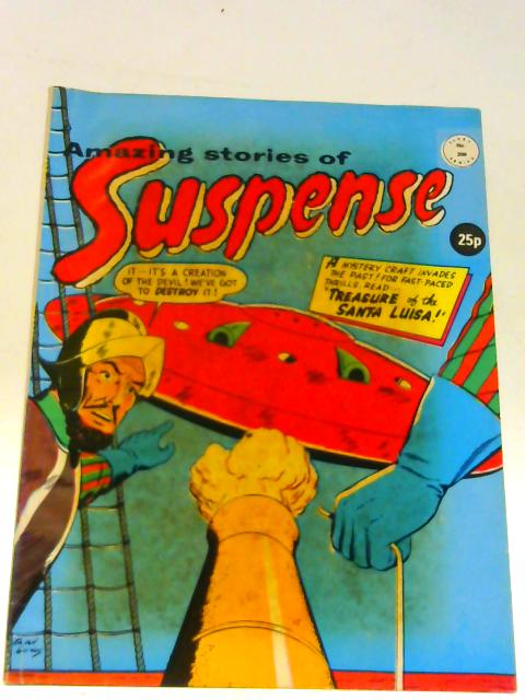 Amazing Stories of Suspense Class Series No 208 By Unknown