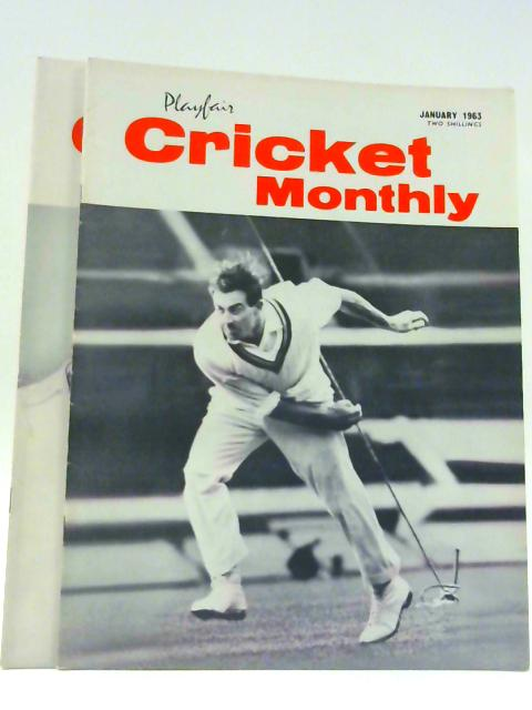 Playfair Cricket Monthly Vol III Nos 9 & 10 Jan & Feb 1963 By Gordon Ross