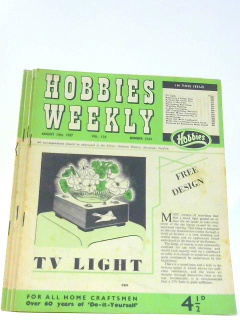Hobbies Weekly 3 issues from 1957 By Unknown