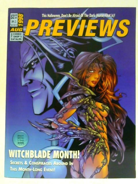 Previews Vol VIII #8 August 1998 By Unknown