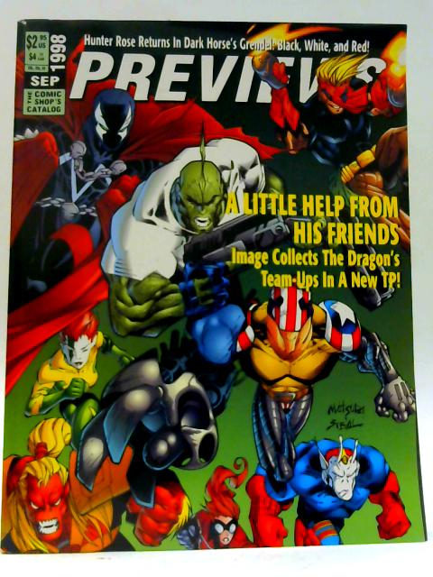 Previews Vol VIII #9 September 1998 By Unknown