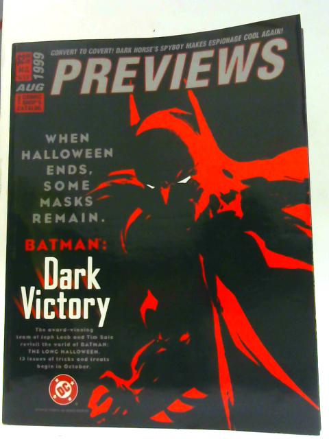 Previews Vol IX #8 August 1999 By Unknown