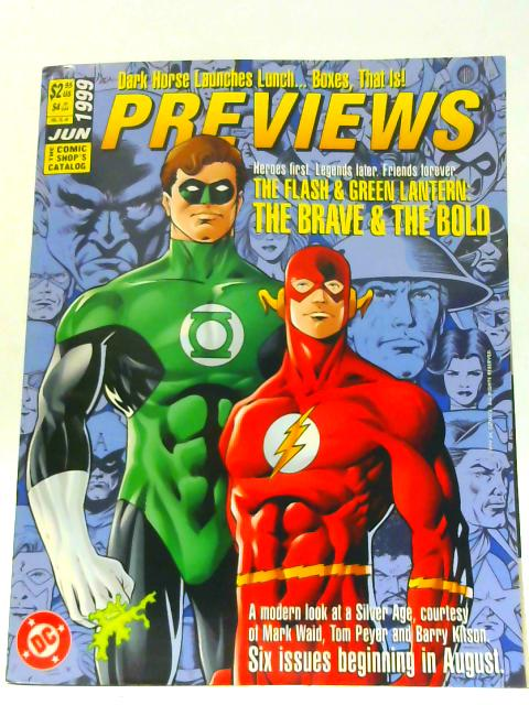 Previews Vol IX #6 June 1999 By Unknown