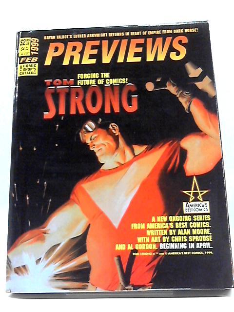 Previews Vol IX #2 Feburary 1999 By Previews