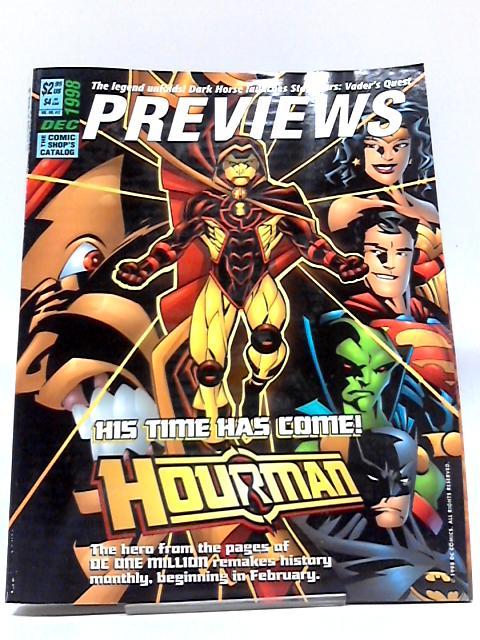 Previews Vol VIII #12 December 1998 By Previews