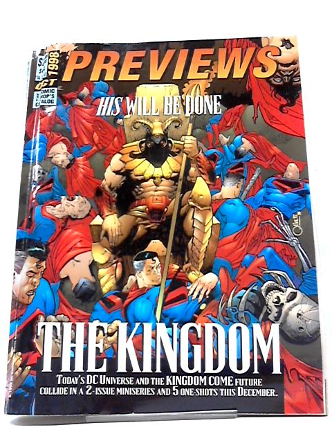 Previews Vol VIII #10 October 1998 By Previews