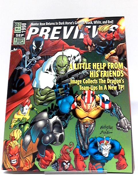 Previews Vol VIII #9 September 1998 By Previews