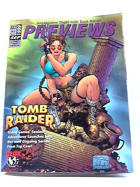 Previews Vol IX #9 September 1999 By Previews