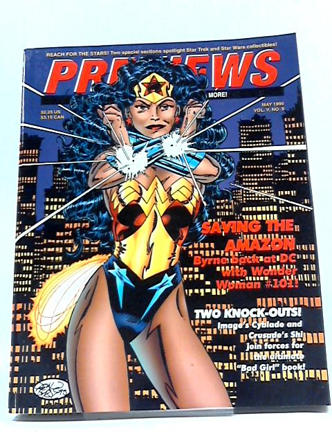 Previews Volume V No 5 1995 By Previews