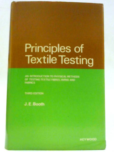 Textile Testing Book