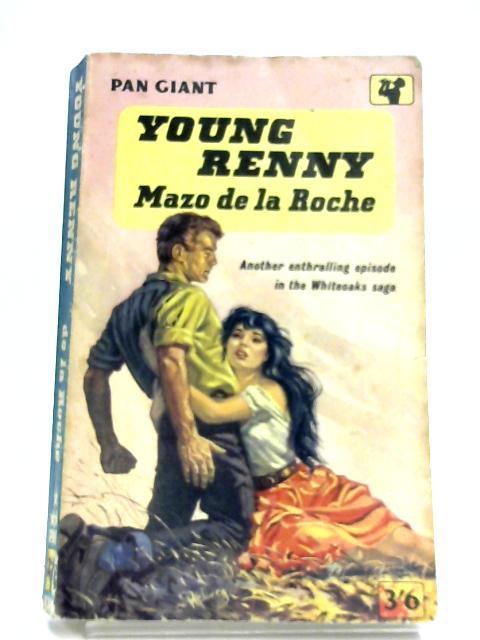 Young Renny By Mazo De La Roche