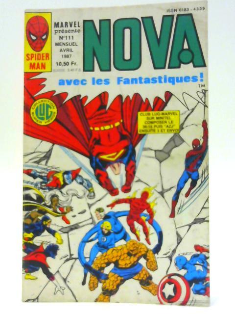 Nova avec les Fantastique No 111 By Unknown