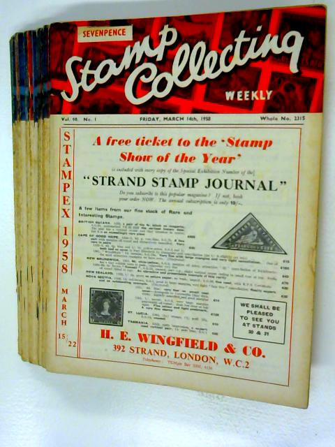 Stamp Collecting Weekly Volume 90 No 1 -26 (Missing 19, 20 & 25) 22 x issue By Kenneth Chapman