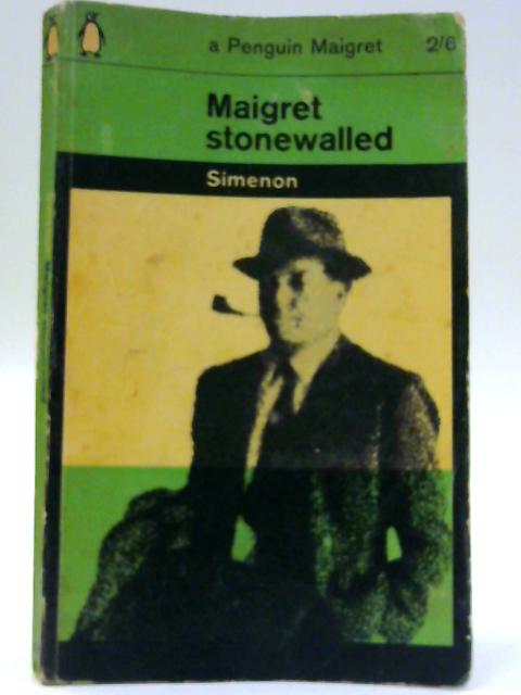 Maigret Stonewalled By Georges Simenon