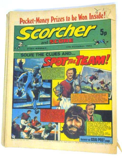 11 Scorcher and Score October - December 1973 By Unknown
