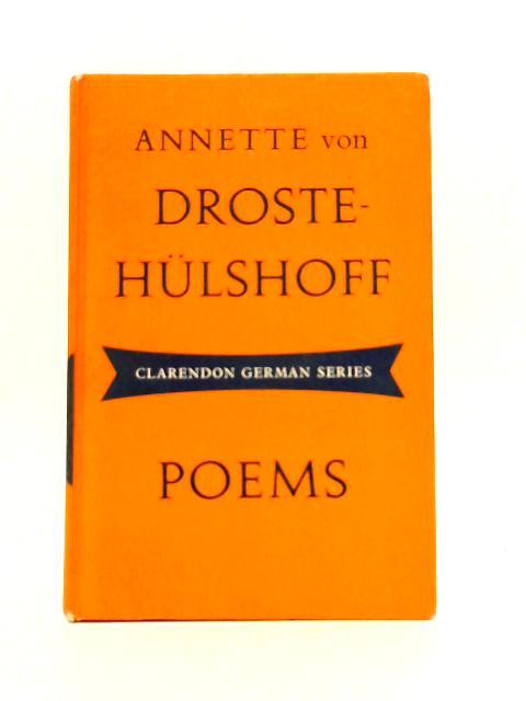 Annette Von Droste-Hulshoff: Poems By Annette Von Droste-Hulshoff