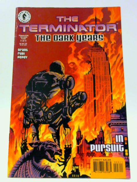 Terminator: The Dark Years # 3 Original American comic By Dark Horse