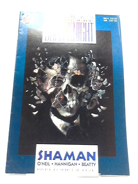 Batman Legends of the Dark Knight: Shaman, Part 4 of 5, February 1990 By DC Comics