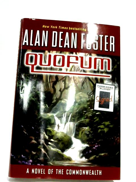 Quofum By Alan Dean Foster