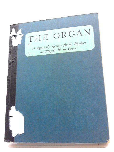 The Organ XXIV (1944 -1945) Nos 93 - 96 By Unstated