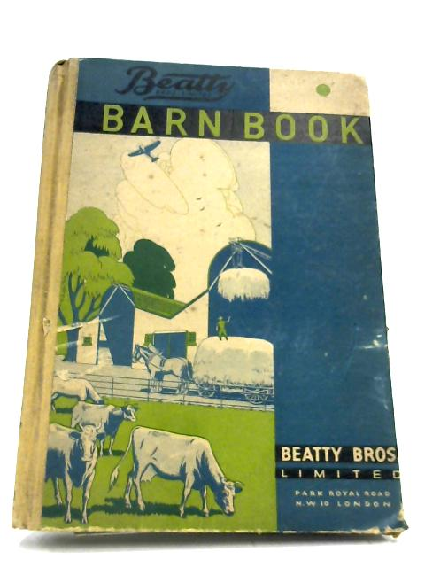 Barn Book No. 11 By Anon