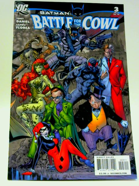 Batman Battle for The Cowl 1 - 3 of 3 By Unknown