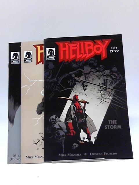 Hellboy The Storm #1 - #3 By Various