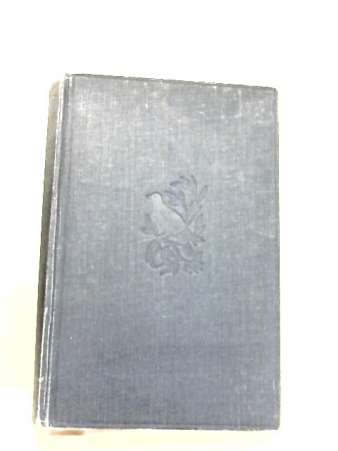 The Book of a Naturalist By Hudson, William Henry