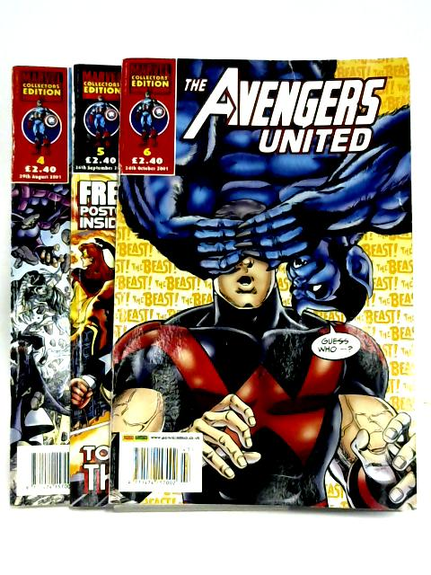 The Avengers United #4-6 by Various