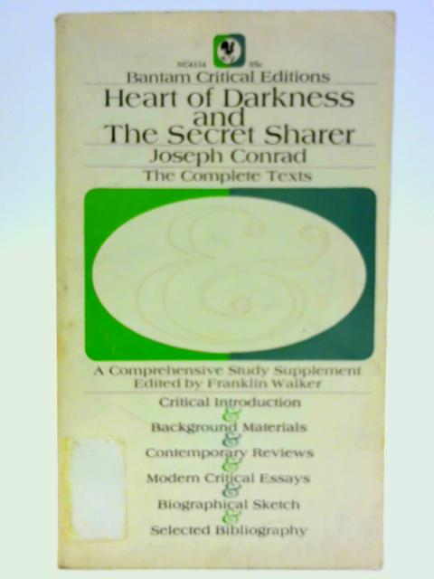 Heart of Darkness ;: And, The Secret Sharer (A Bantam classic) By Conrad, Joseph