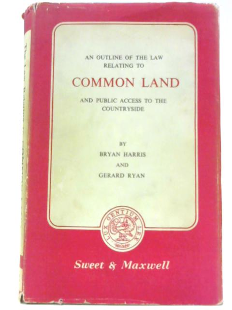 Common Land by Harris, Bryan