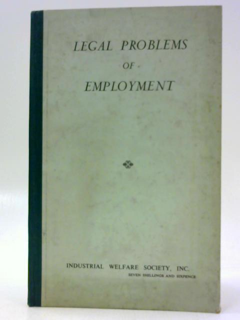Legal Problems of Employment by Unknown