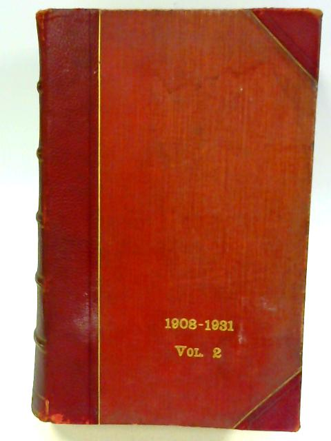 The Public Acts of New Zealand 1908-1931 Volume II by Sir Michael Myers et al