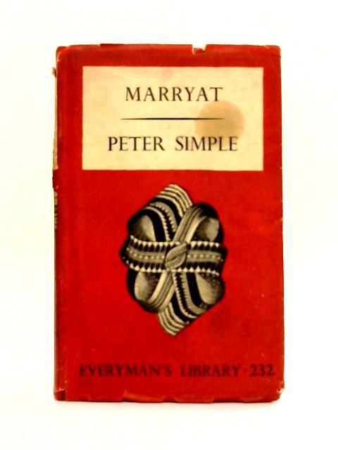 Peter Simple by Captain Marryat