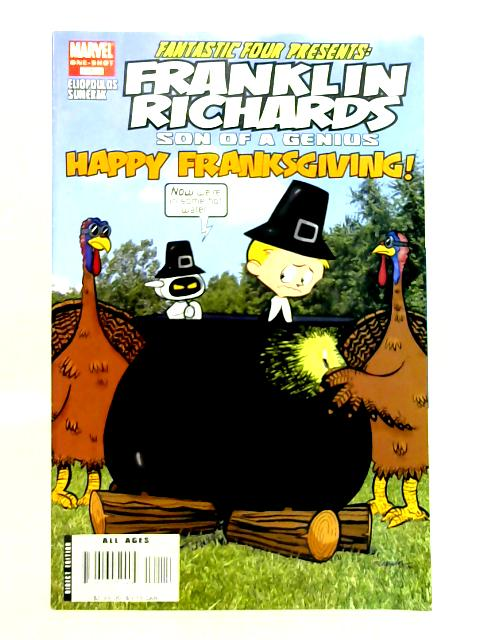 Franklin Richards: Happy Franksgiving No. 1 By M. Sumerak