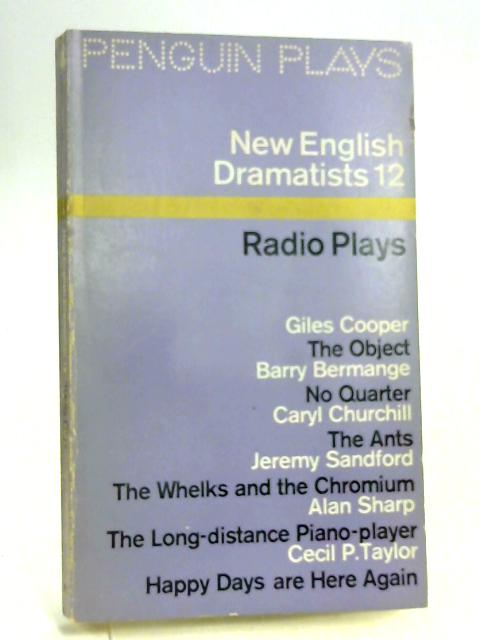 New English Dramatists 12 By Various
