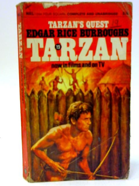 Tarzan's Quest By Burroughs, Edgar Rice