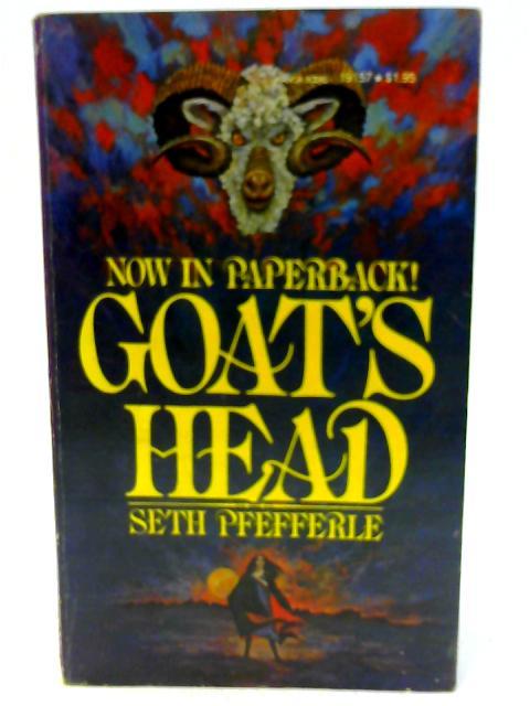 Goat's Head By Seth Pfefferle