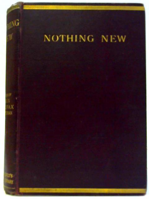 Nothing New by Dinah Craik