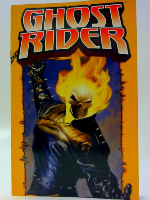 Ghost Rider Poster Book by Unknown