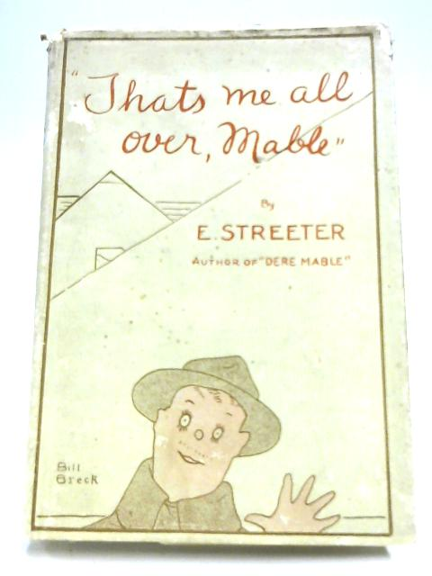 Thats Me All Over, Mable By Edward Streeter