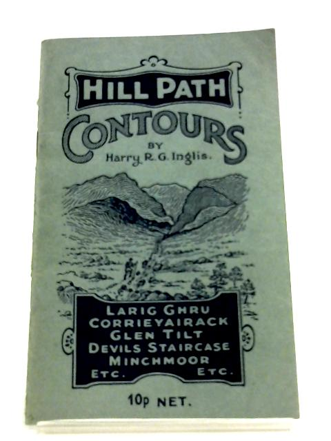Hill Path Contours By Harry R. G. Inglis