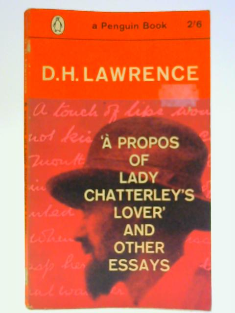 dh lawrence essays