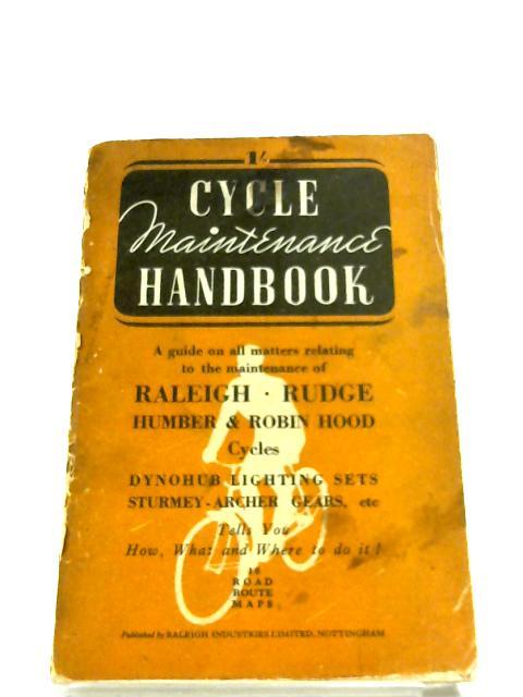 Cycle Maintenance Handbook by Anon