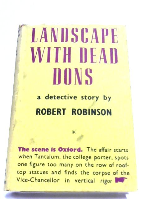 Landscape With Dead dons By Robert Robinson