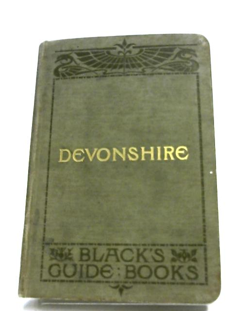 Black's Guide To Devonshire By A. R. Hope Moncrieff