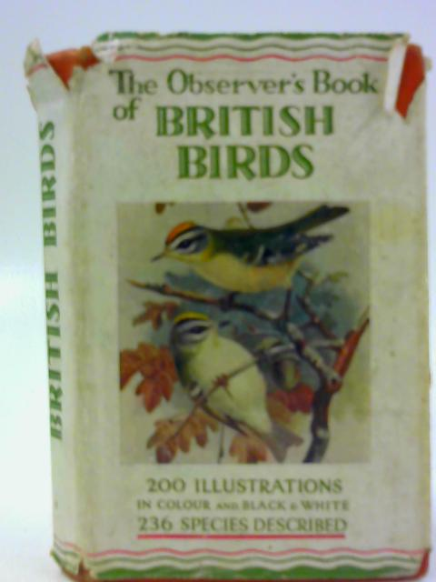 The Observer's Book of British Birds by Benson, S Vere (Fwd. Frances Countess of Warwick)