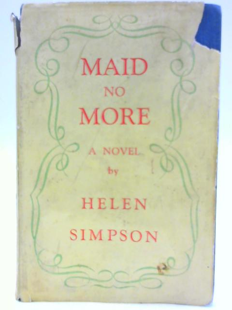 Maid No More By Simpson, H